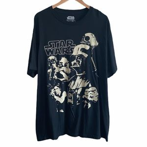 NEW Star Wars black silhouette tee size XXL